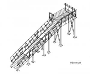 Vista 3D Scale di Emergenza Ikea