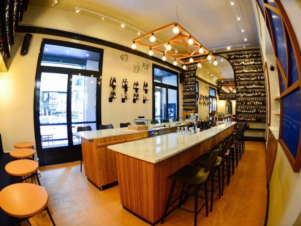 Arredi e componenti metallici per il wine bar brylla di for Componenti di arredo