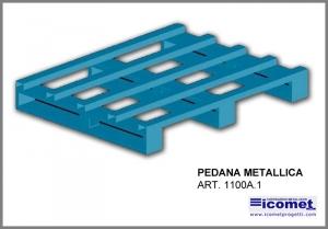 Metallic platform