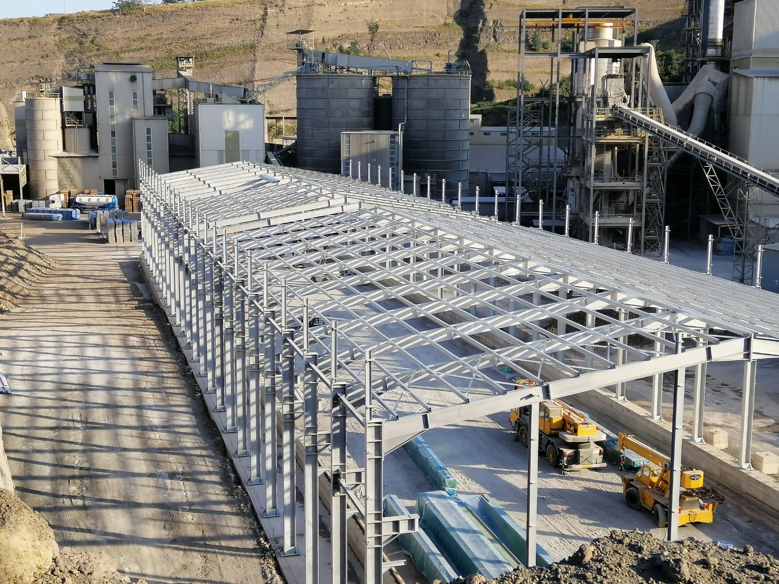 Cementeria Costantinopoli Capannone Industriale