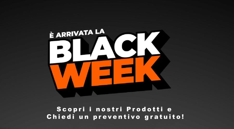 Black Week Carpenteria Metallica