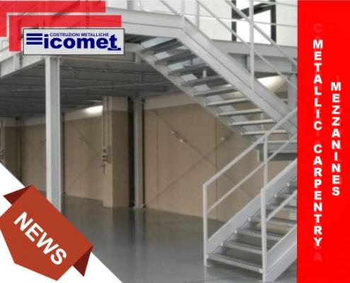 Metal carpentry mezzanines