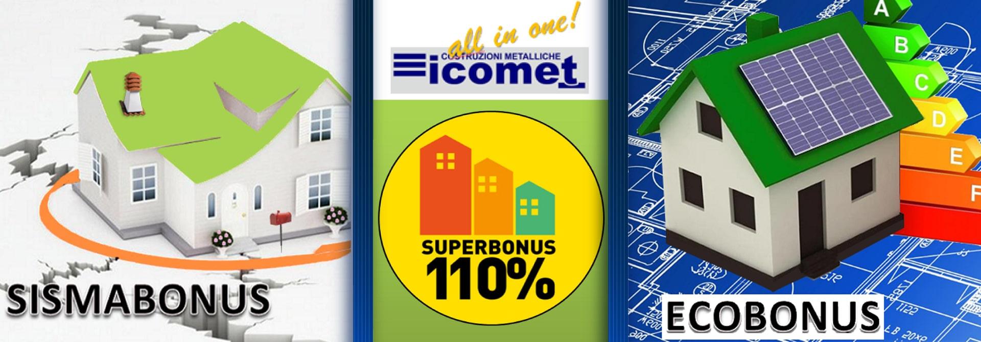 Superbonus 110% Icomet Costruzioni Metalliche